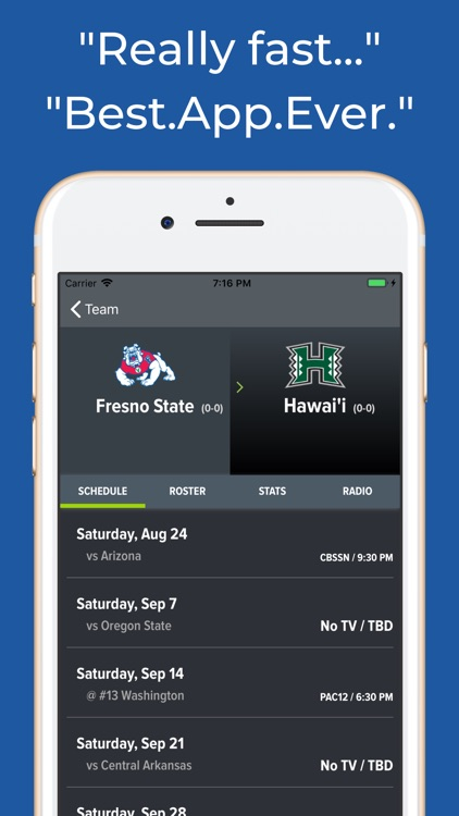 Fresno State Football App screenshot-8