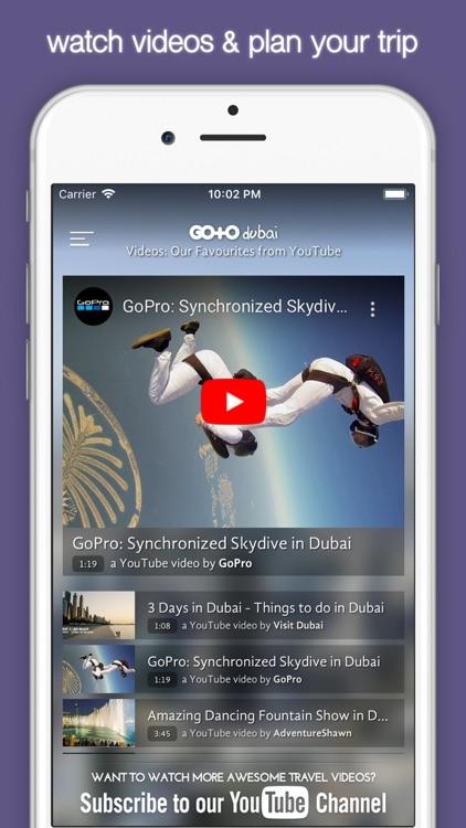 Dubai Travel Guide & City Maps screenshot-4