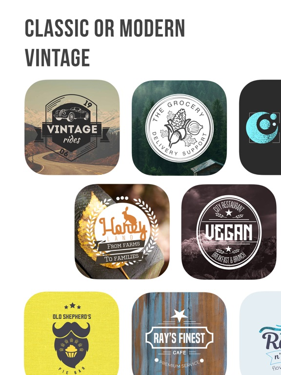Logo Maker | Vintage Design Screenshots