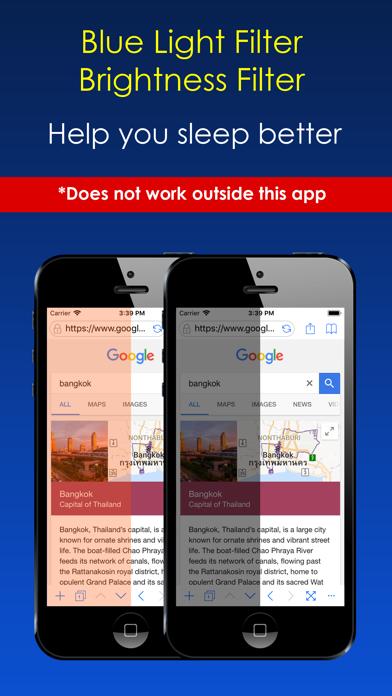 Dark Night Browser app image