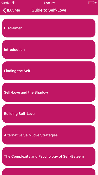ILuvMe: Guide to Self Love screenshot #3