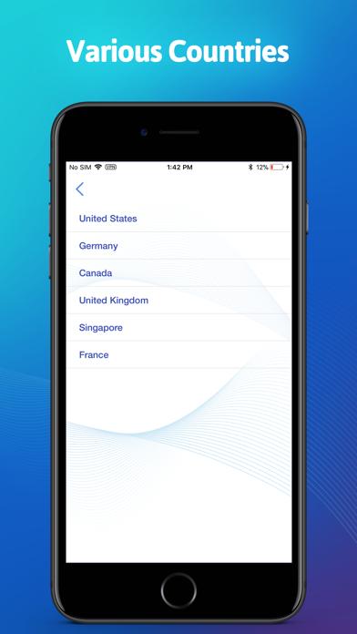 Screenshot for Rapid VPN - Fast Private VPN in Denmark App Store
