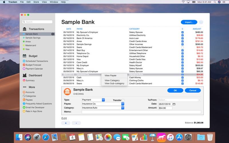 Tracken for Mac