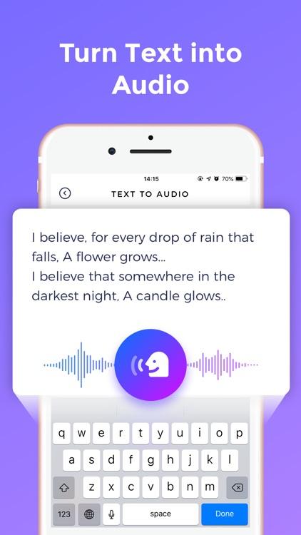 Vovo - Celebrity Voice Changer screenshot-4