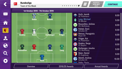 Football Manager 2020 Mobile screenshot #5