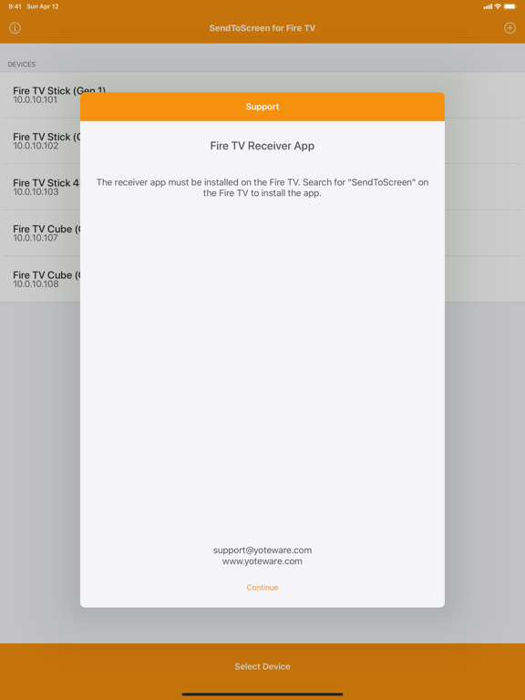 SendToScreen for Fire TV screenshot 9