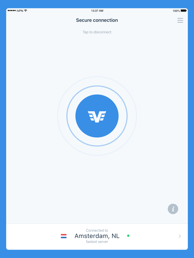 IVPN - Privacy & Security VPN Screenshot