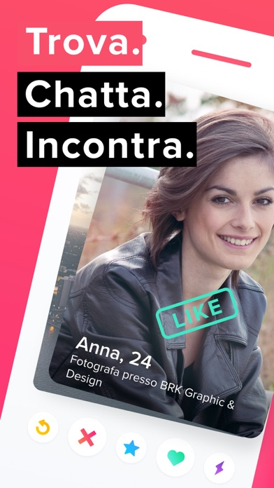 Screenshot for Tinder in Italy App Store