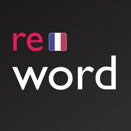 French flashcards with ReWord