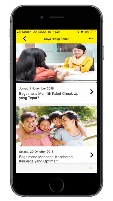 Prodia Mobile screenshot one