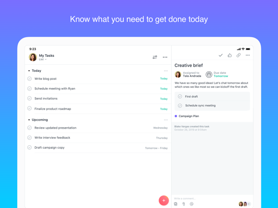 Asana: Team Tasks & Conversations screenshot