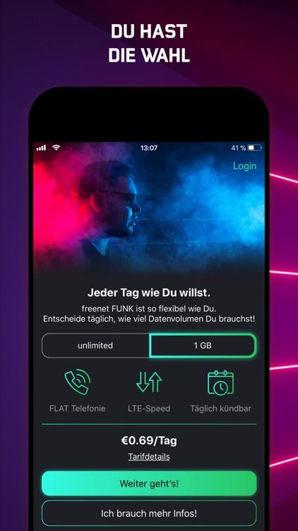 freenet FUNK - deine Tarif-App