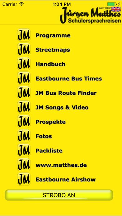 Jürgen Matthes Sprachreisen screenshot one