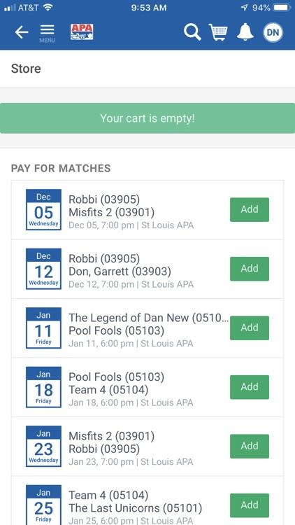 APA Pool League screenshot-5