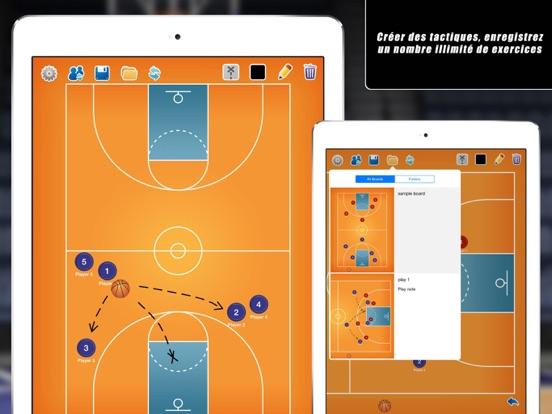 Screenshot #4 pour Planche Tactique: Basketball++