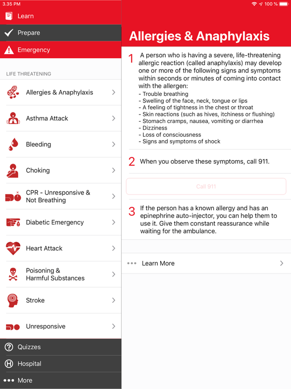 First Aid by American Red Cross screenshot