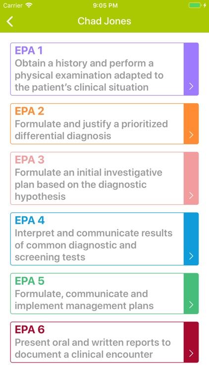 UGME EPAs App