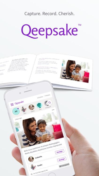 Qeepsake: Family & Baby Album screenshot-3