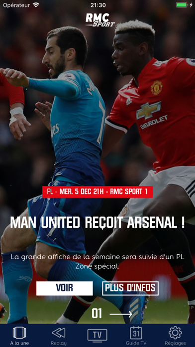 download RMC Sport apps 3