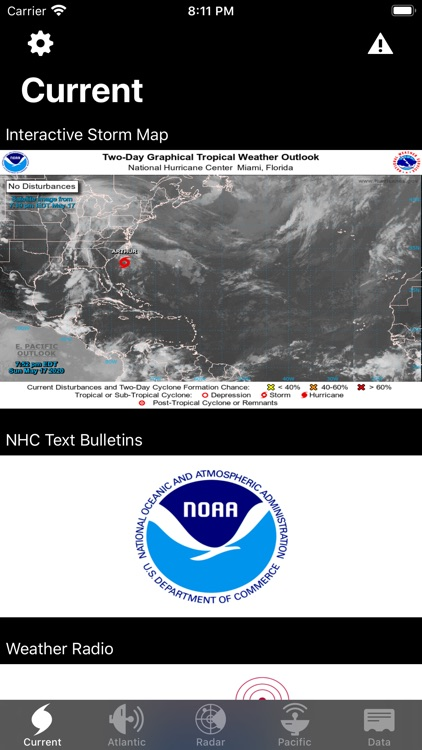 NOAA Hurricane Center screenshot-5