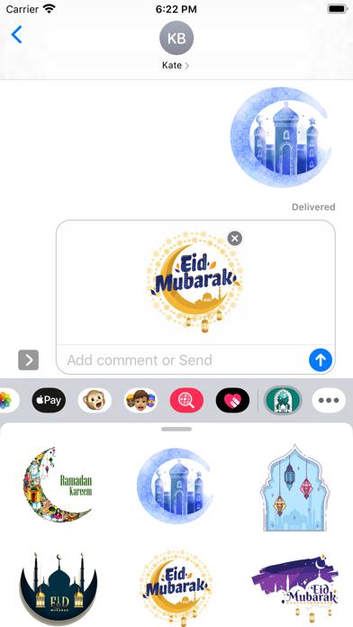 Happy Ramadan Kareem Stickers screenshot 1