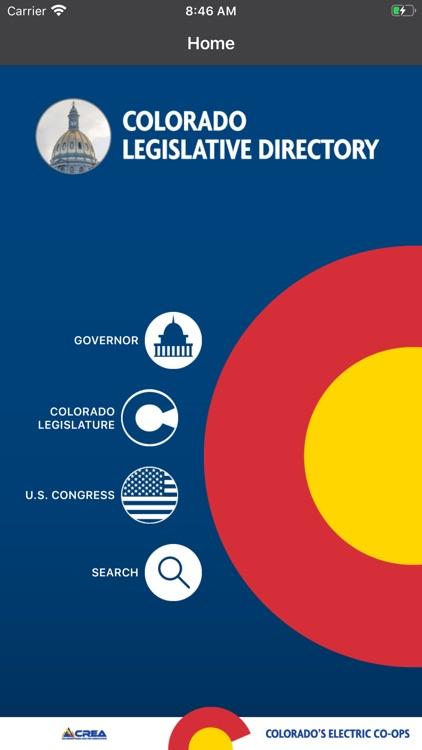 Colorado Legislative Directory