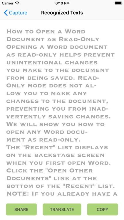 Quick Photo Scan & Translate screenshot-3