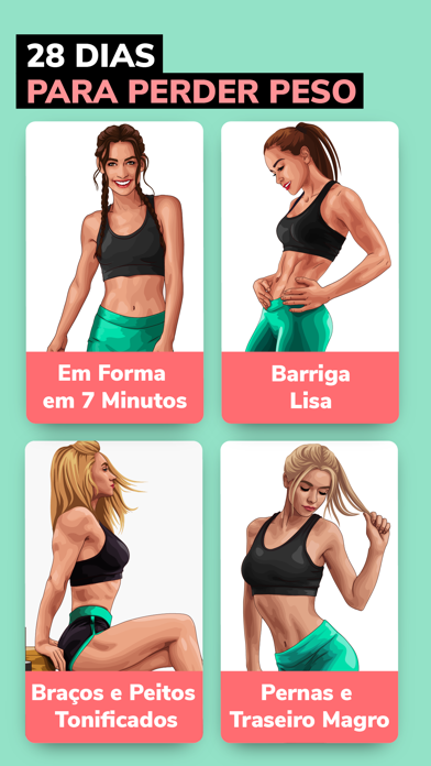 Screenshot for BetterMe: Perda de peso in Brazil App Store