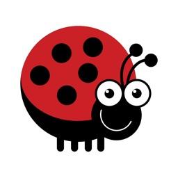 Cute Bugs Stickers