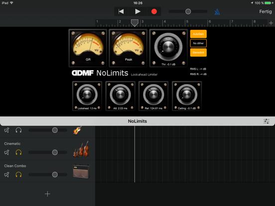 NoLimits AU Limiter by DDMF screenshot 3