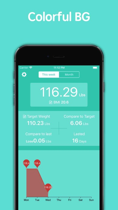 WeightDiary-Record your weight app image