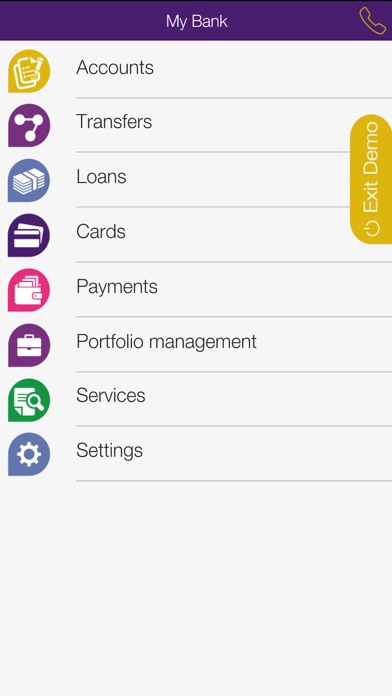 Screenshot for Byblos Bank Mobile Banking in Lebanon App Store