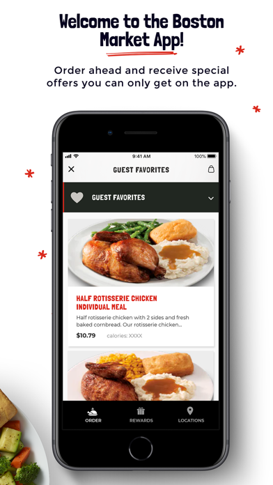 Boston Market review screenshots