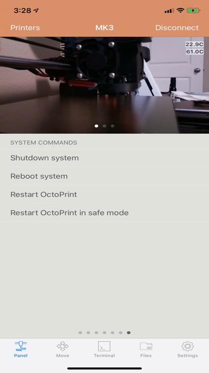 OctoPod for OctoPrint screenshot-9