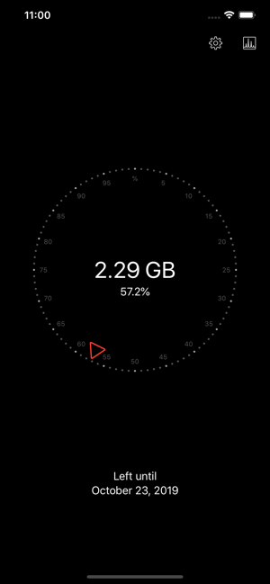 ‎Databit: Data usage manager Screenshot