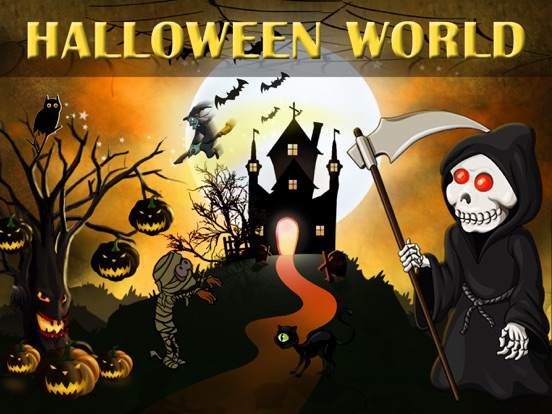 Halloween World - City Builder screenshot
