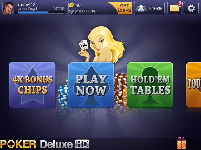 Texas HoldEm Poker Deluxe HD on the App Store