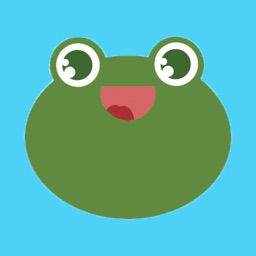 Fun toad stickers - frog emoji