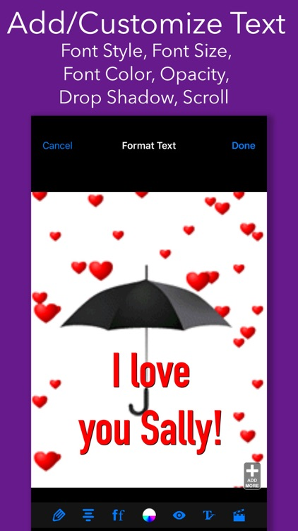 Fun Animations - MMS Texting screenshot-4