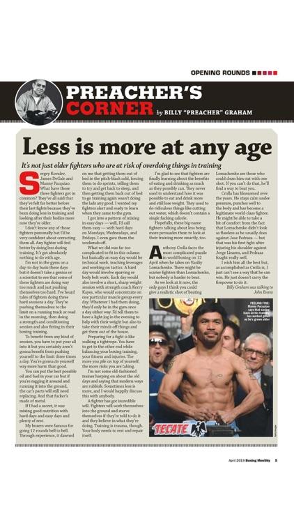 Boxing Monthly Magazine screenshot-4
