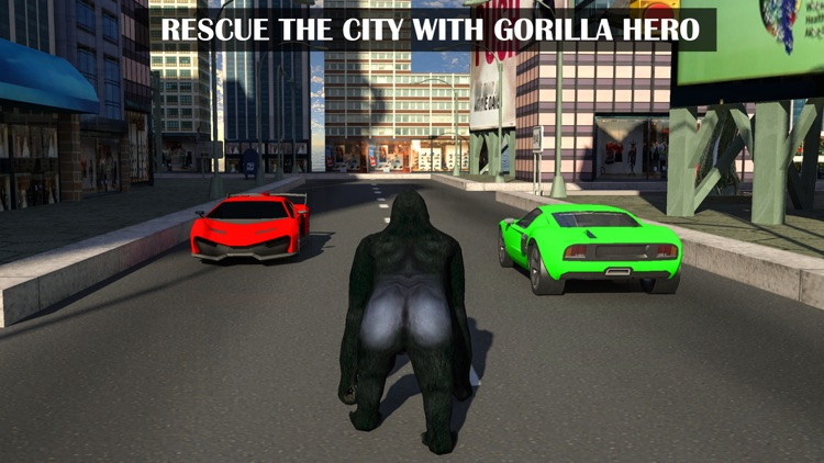 Gorilla Rope Hero Vice Town 3d screenshot-0
