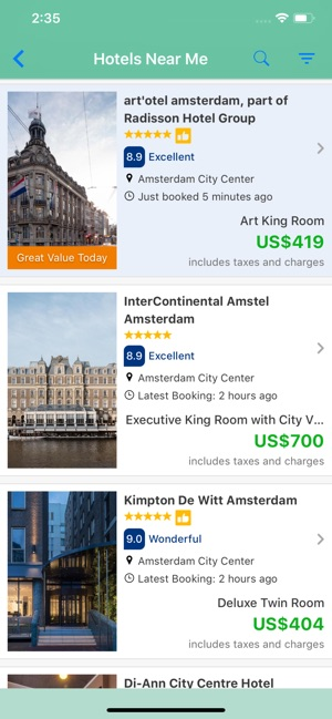 Hotels Near Me On The App Store