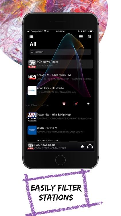 Top Radio: online news, music screenshot-3