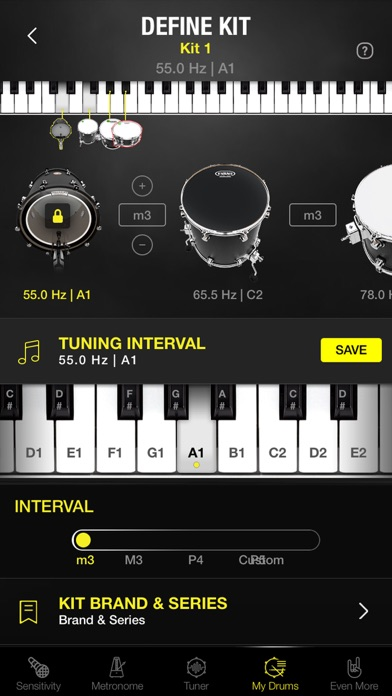 Screenshot for Drumtune PRO | Drum Tuner in Chile App Store