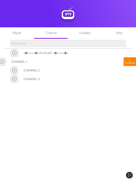 Screenshot #6 pour IPTV Easy - m3u Playlist