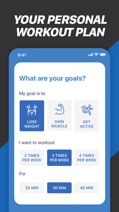 Fitness Buddy: Train At Home Screenshot