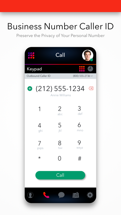 Premium Business Phone Number Screenshot