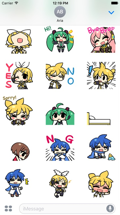 Animated Miku Gang Sticker