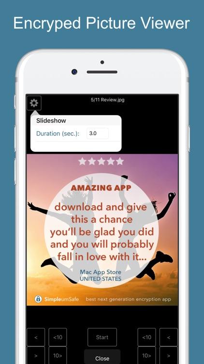 SimpleumSafe - Encryption screenshot-3
