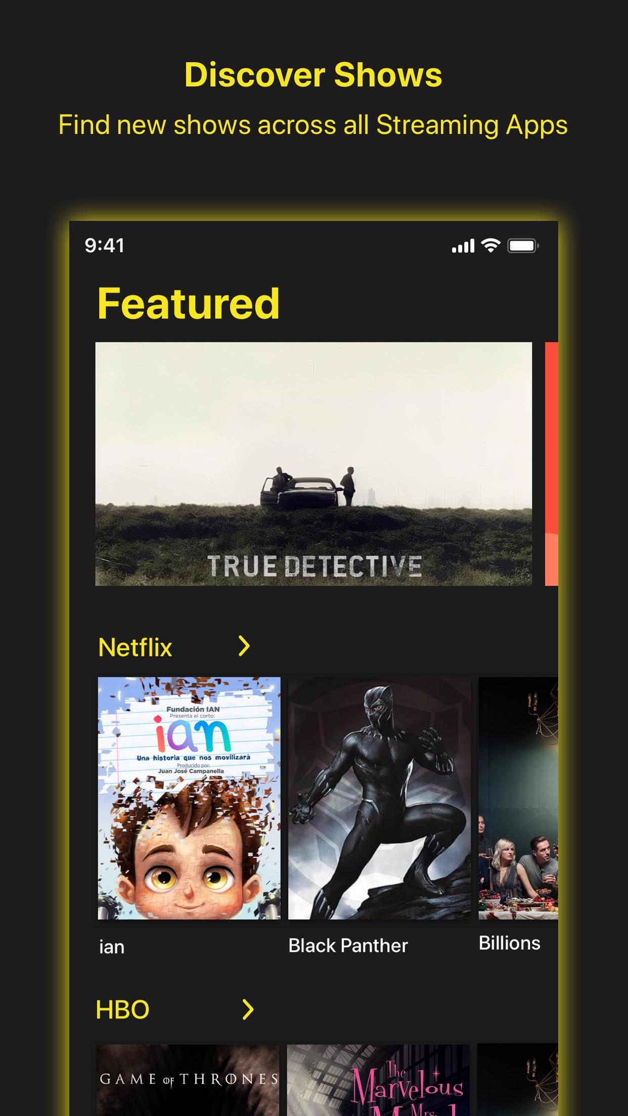 Screenshot do app Peel TV Guide